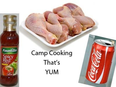 Coca Cola Chicken – Great Camping Recipes For Families