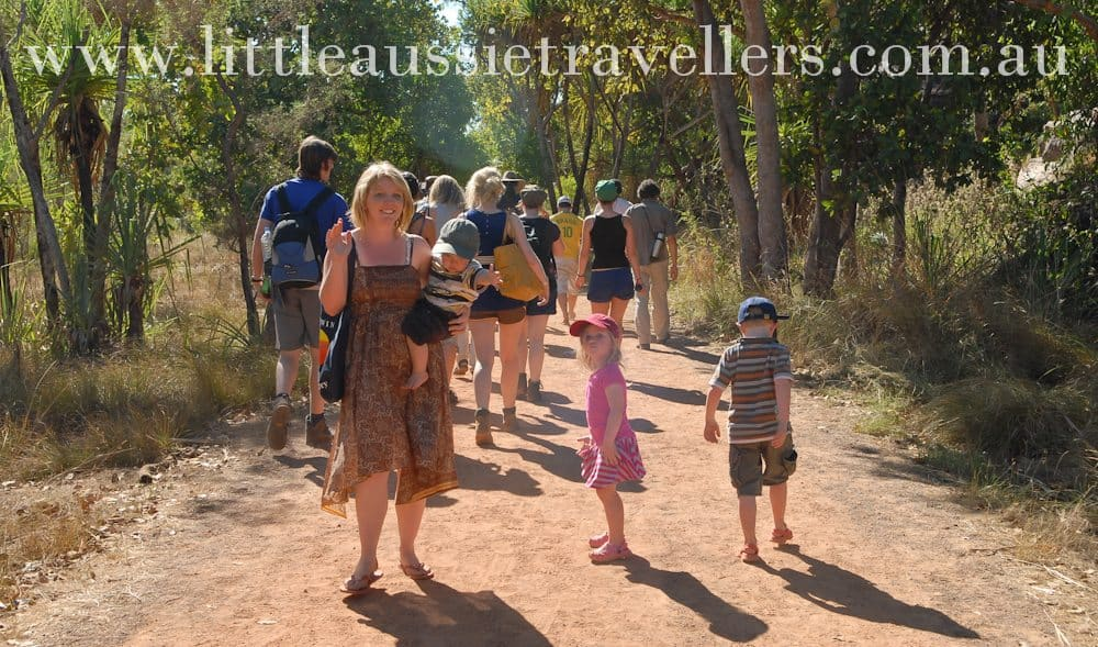 taking a tour in Kakadu