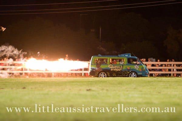 Jet Van Fire