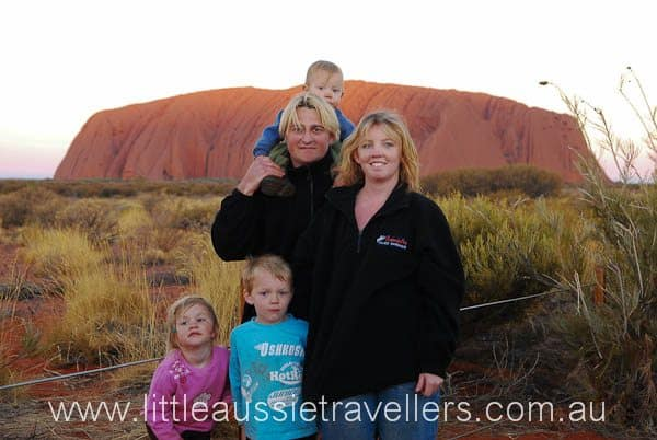 Family Holiday Uluru