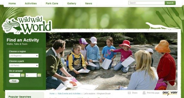 national park family holiday activities