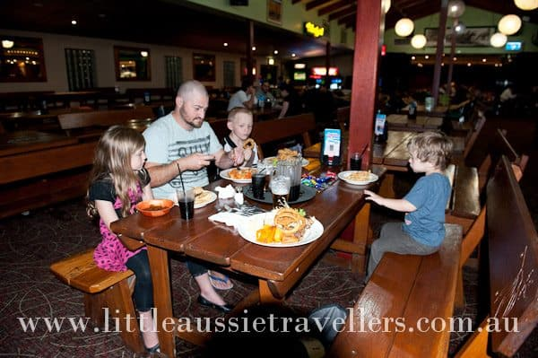 outer sydney dining for families