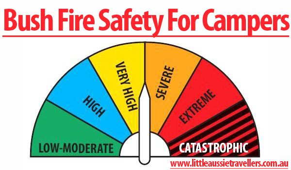 Bush Fire Safety For Campers