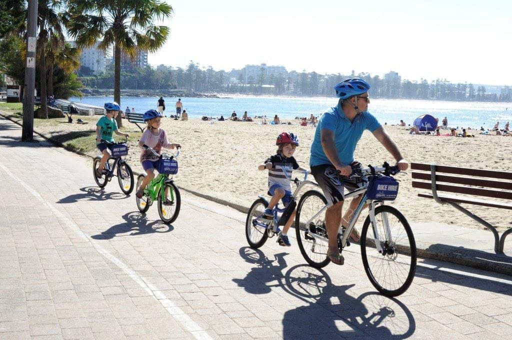 bike hire in manly