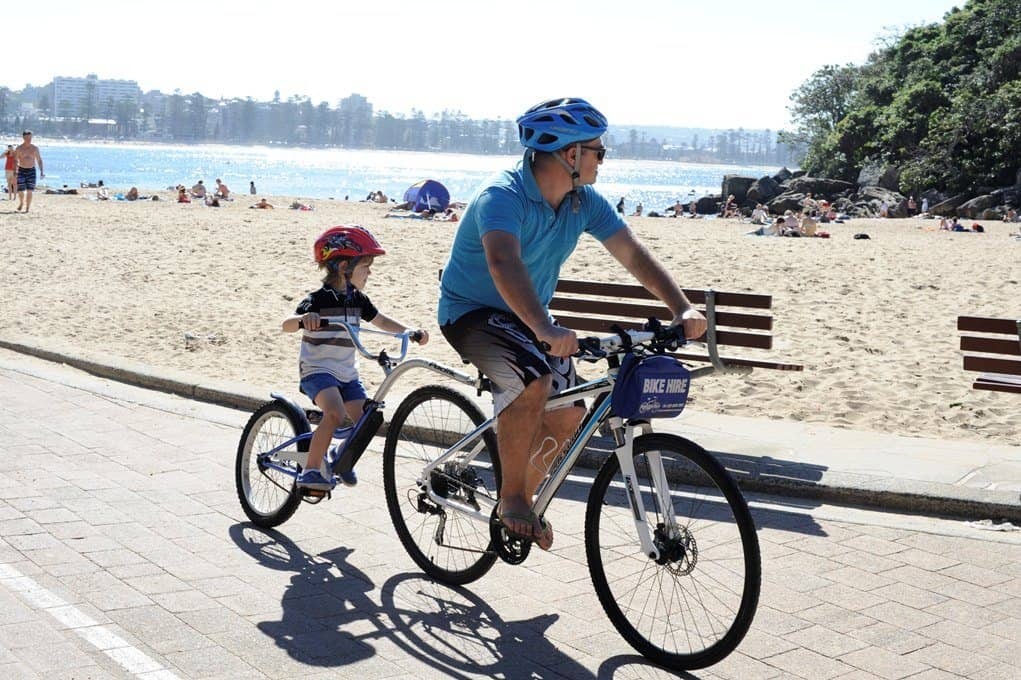 Sydney Things to do With Kids – Manly Bike Riding