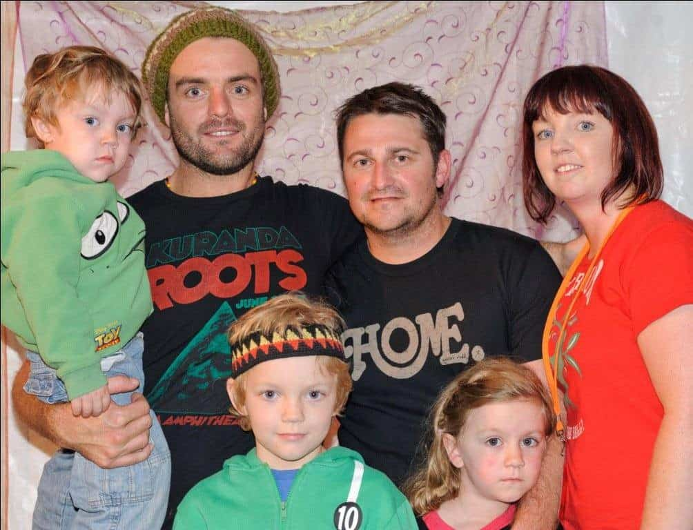 fotsun with kids xavier rudd