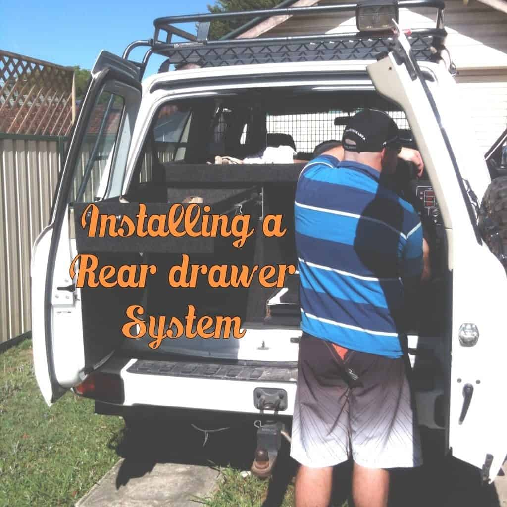 Car Modifcations for Travelling Australia – Rear Drawer System Install