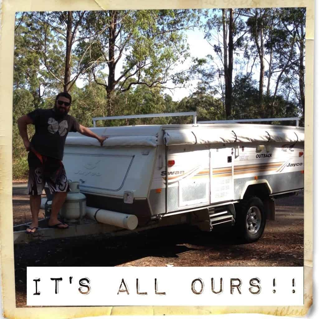 our home while travelling australia with kids