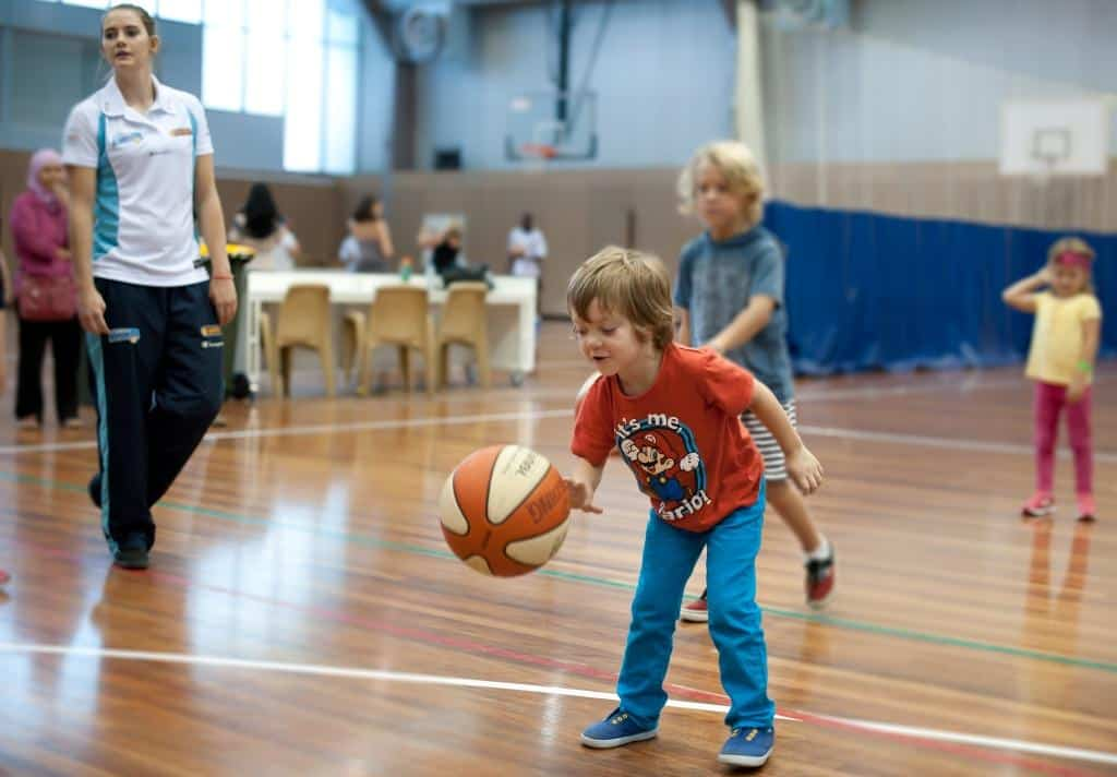 Australian Institute of Sport With Kids
