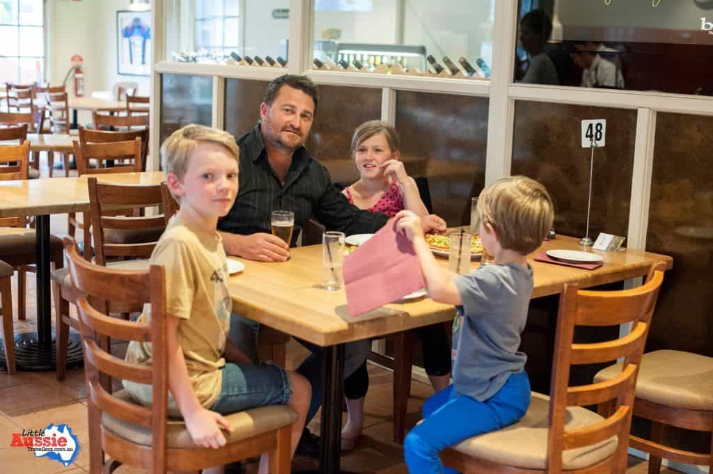 kid friendly restaurants tassie