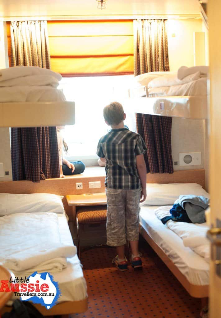 Family rooms on Spirit of Tasmania