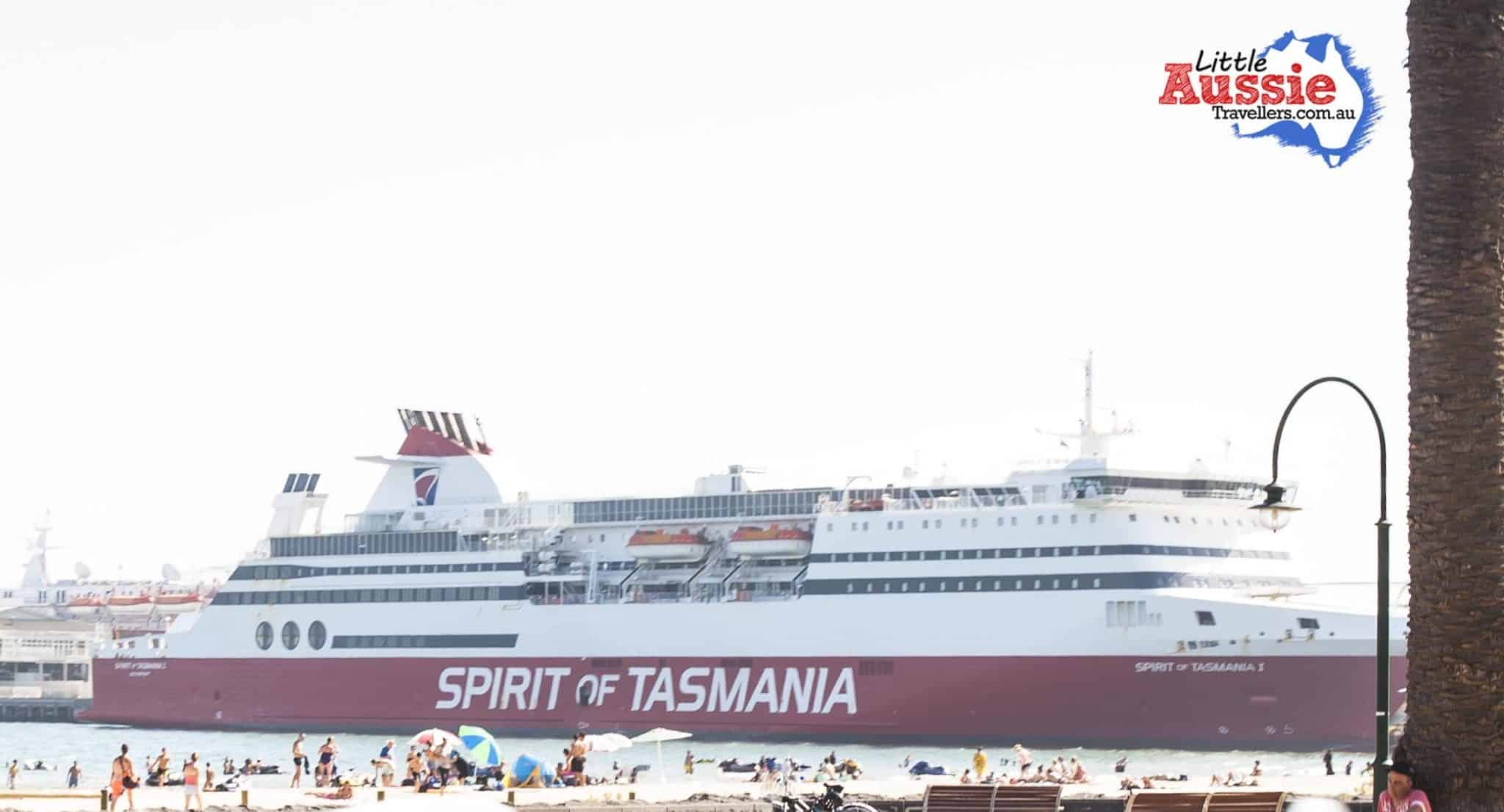 Sailing Spirit of Tasmania with Kids (& a dog).