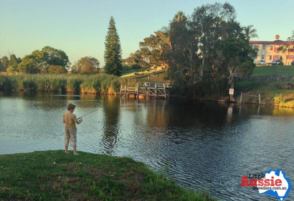 fishing with kids nsw