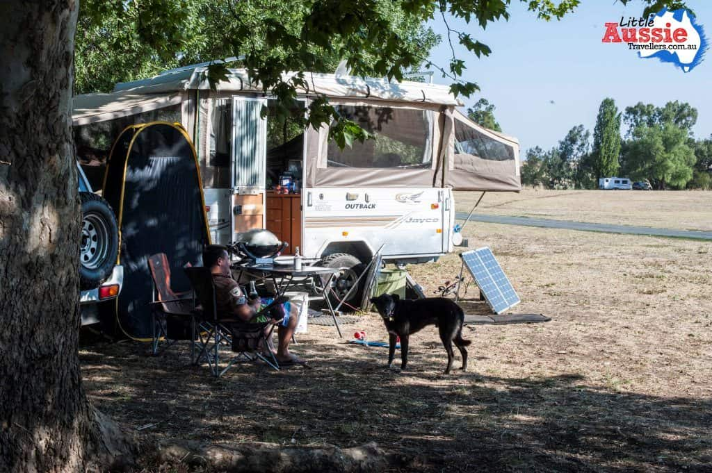 dog friendly free camping