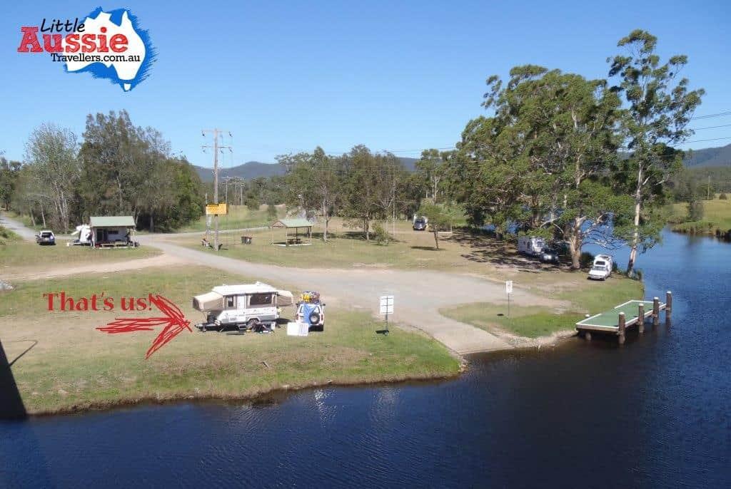 free camp at Bulahdelah NSW