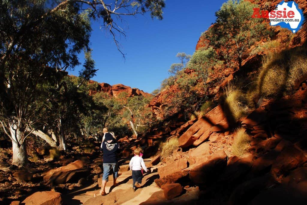 Kings Canyon kid friendly walks