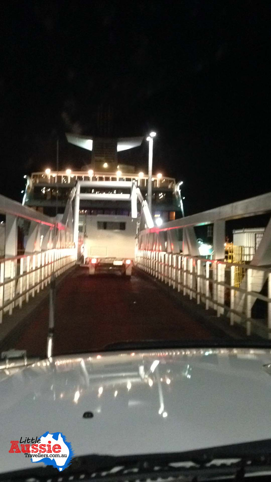 driving onto spirit of tasmania