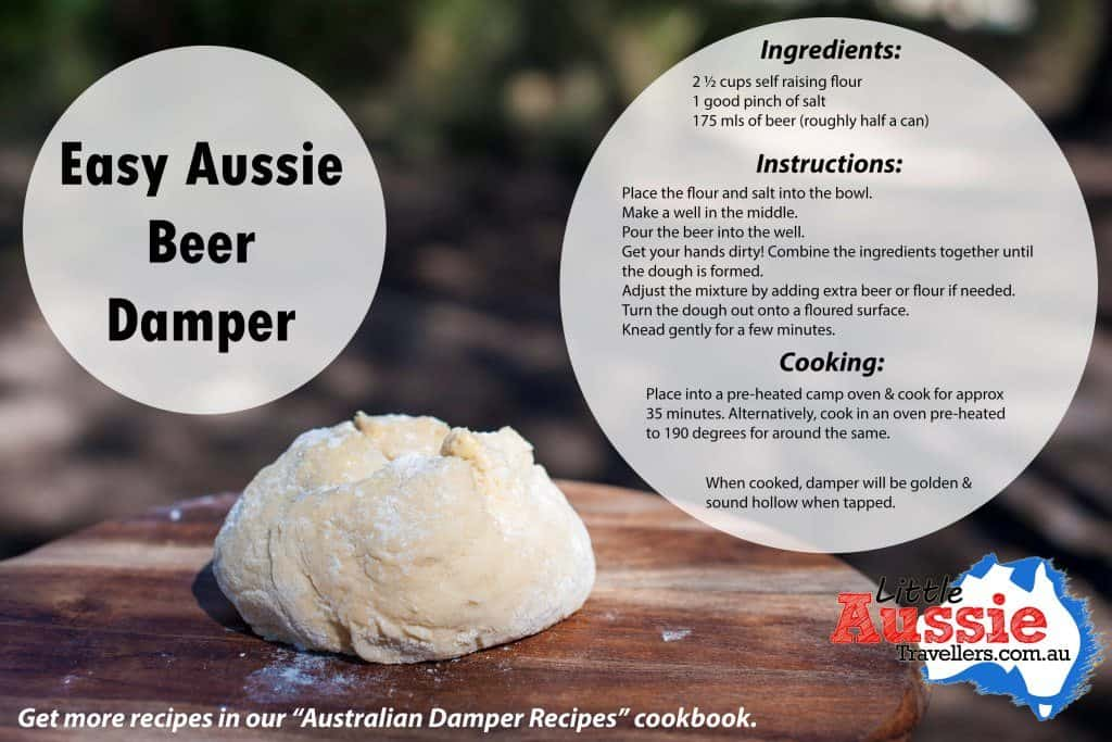 Easy Aussie Beer Damper Recipe