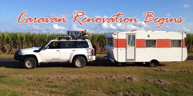 renovation classic caravan viscount