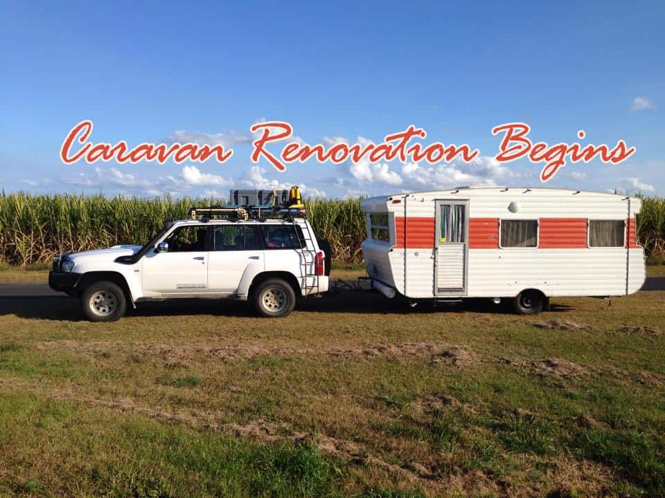 Sometimes Plans Change: Caravan Renovation Begins