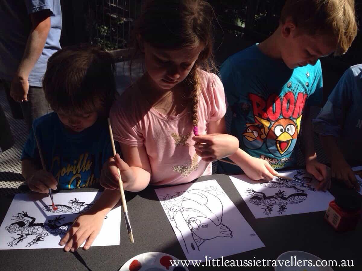 Sea Acres Aboriginal Art & Craft Afternoon