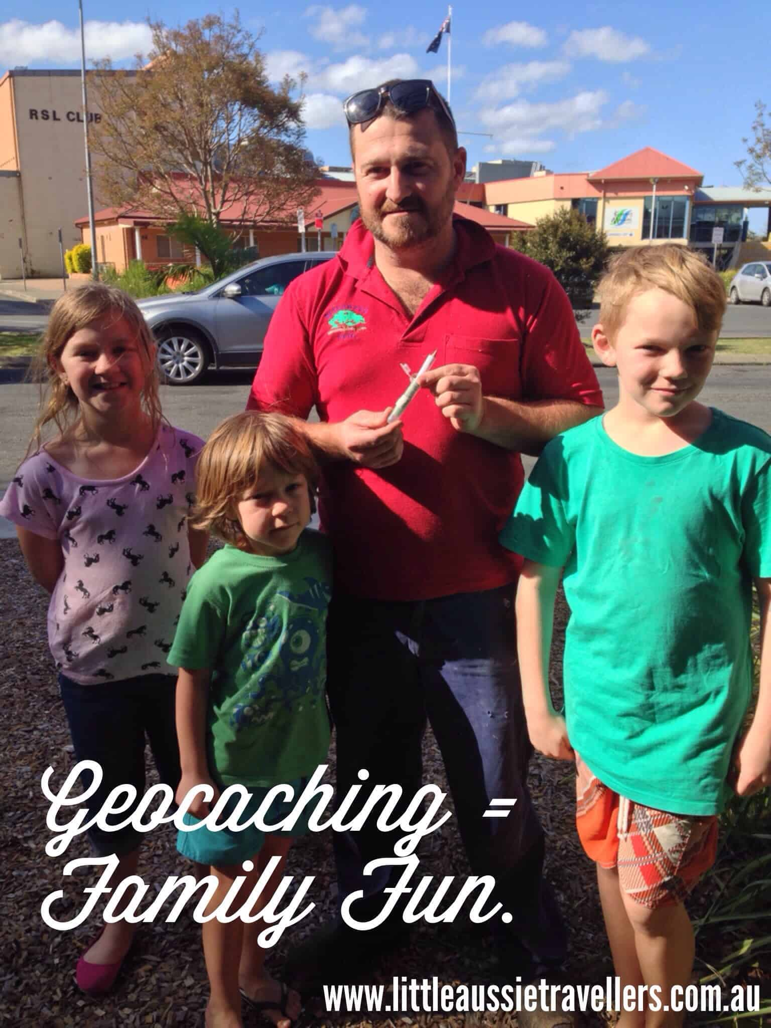 family geocaching australia