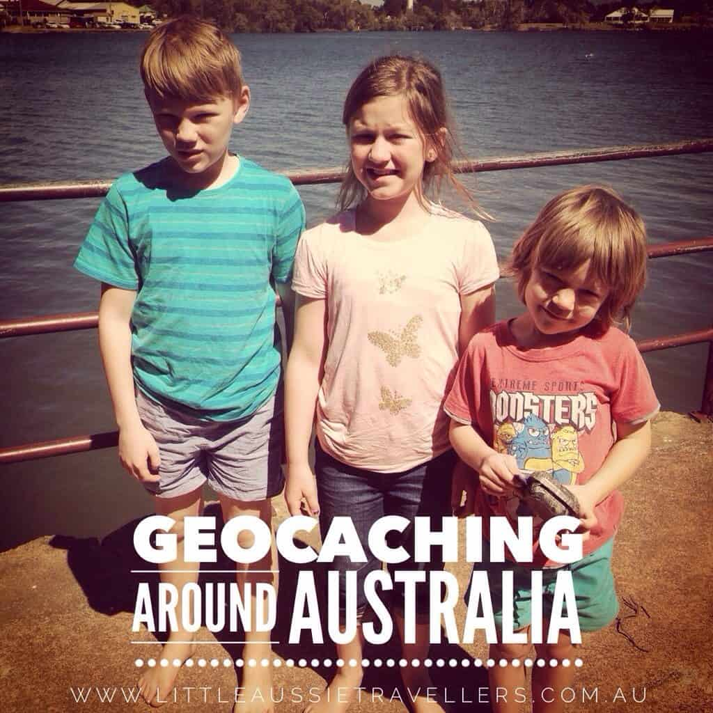 Geocaching Around Australia With Kids