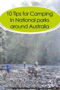 camping national parks australia