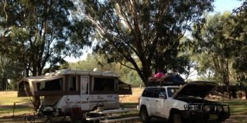 camping australia with kids